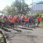 "Cruise Ship passengers enjoy ""Runcation"" in Saint Lucia"